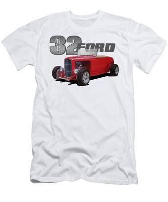 Class of 32 Ford Deuce Coupe Hot Rod mens T shirt 1932 V8 mad armadillo