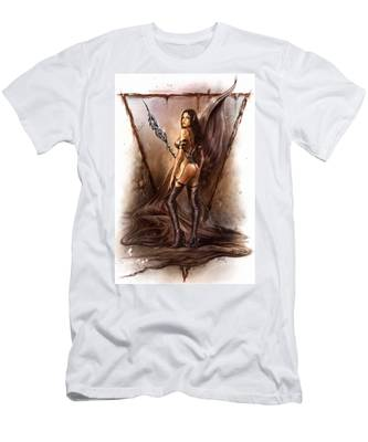 About Elves And Steel  Men's T-Shirt (Athletic Fit)