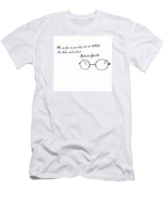 Men's T-Shirt (Athletic Fit) featuring the photograph An Eye For An Eye by Bill Cannon