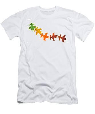 Autumn Leaves 1 Men's T-Shirt (Athletic Fit)