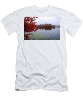 Autumn On The Bellamy Men's T-Shirt (Athletic Fit)