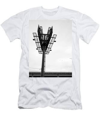 Billboard Above Interstate 15 In Helena Mt Men's T-Shirt (Athletic Fit)
