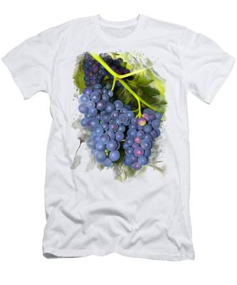 Concord Grape Men's T-Shirt (Athletic Fit)