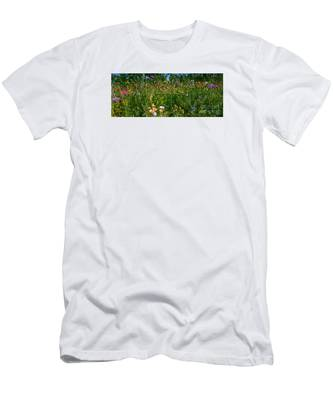 Country Wildflowers IIi Men's T-Shirt (Athletic Fit)