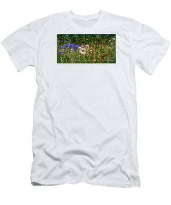 Country Wildflowers Iv Men's T-Shirt (Athletic Fit)