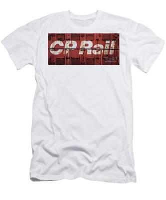 Cp Rail Men's T-Shirt (Athletic Fit)