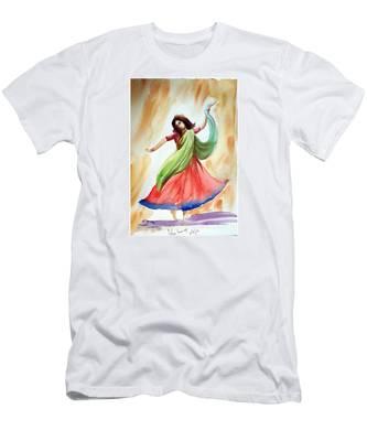 Dance Of Abandon Men's T-Shirt (Athletic Fit)