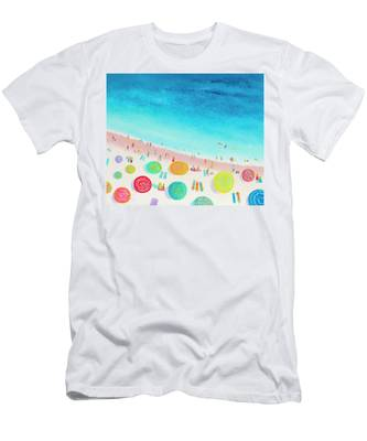 Dreaming Of Sun, Sand And Sea Men's T-Shirt (Athletic Fit)