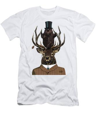 The Earl And Council With Hidden Pictures Men's T-Shirt (Athletic Fit)
