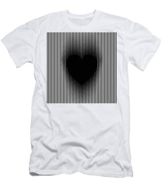 Expanding Heart Men's T-Shirt (Athletic Fit)