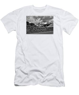 Fine Art Back And White271 Men's T-Shirt (Athletic Fit) by Joseph Amaral