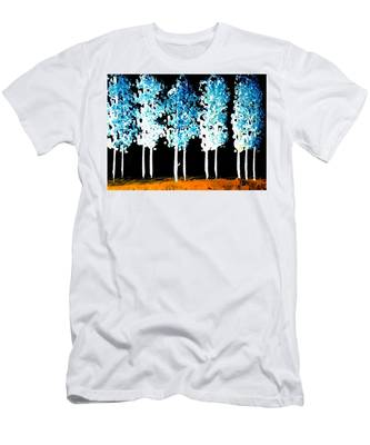 Forest Of Nightmares  Men's T-Shirt (Athletic Fit)
