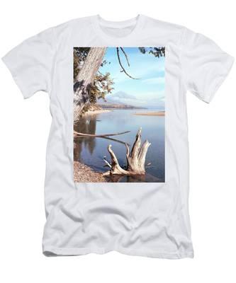 Glacier National Park 3 Men's T-Shirt (Athletic Fit)