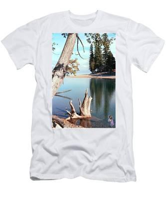 Glacier National Park 4 Men's T-Shirt (Athletic Fit)