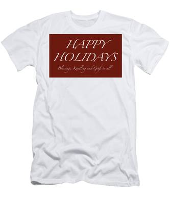 Happy Holidays - Day 6 Men's T-Shirt (Athletic Fit)