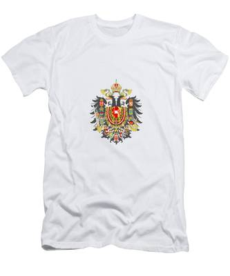 Imperial Coat Of Arms Of The Empire Of Austria-hungary Transparent Men's T-Shirt (Athletic Fit)