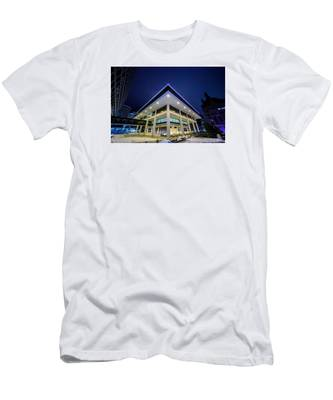 Inverted Pyramid Men's T-Shirt (Athletic Fit)