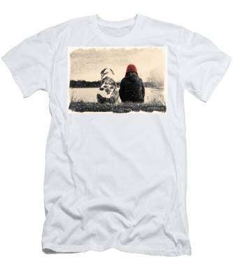 Just Sitting In The Morning Sun Men's T-Shirt (Athletic Fit)