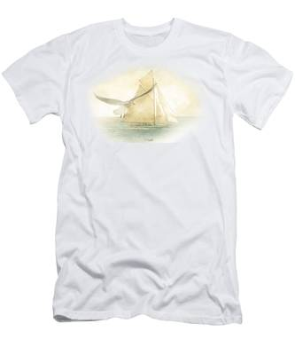 Let Your Spirit Soar Men's T-Shirt (Athletic Fit)