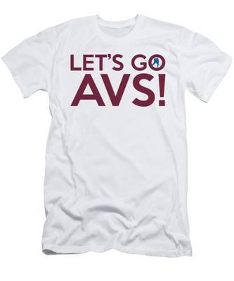 Let's Go Avs Men's T-Shirt (Athletic Fit)