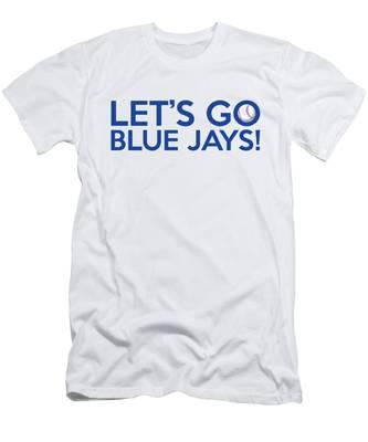 Let's Go Blue Jays Men's T-Shirt (Athletic Fit)