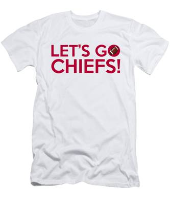 Let's Go Chiefs Men's T-Shirt (Athletic Fit)