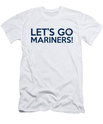 Let's Go Mariners Men's T-Shirt (Athletic Fit)