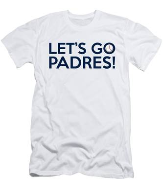 Let's Go Padres Men's T-Shirt (Athletic Fit)