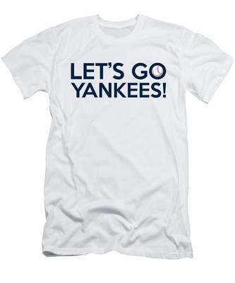 Let's Go Yankees Men's T-Shirt (Athletic Fit)