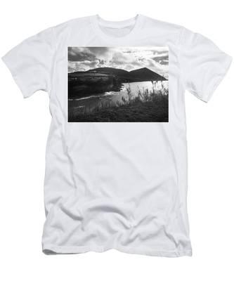 Monte Brasil, Terceira Men's T-Shirt (Athletic Fit)