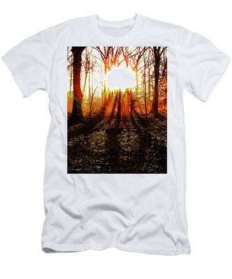 Morning Glow Men's T-Shirt (Athletic Fit)
