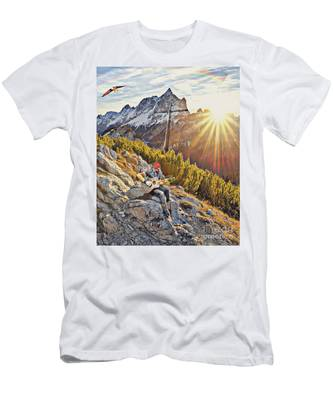 Mountain Of The Lord Men's T-Shirt (Athletic Fit)