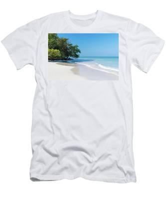 Negril Beach Morning Men's T-Shirt (Athletic Fit)