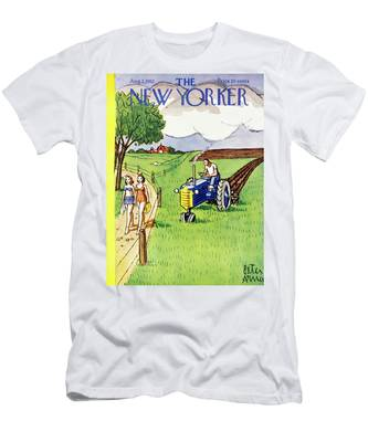 New Yorker August 2 1952 Men's T-Shirt (Athletic Fit)