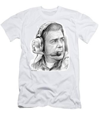 Nick Saban Men's T-Shirt (Athletic Fit)