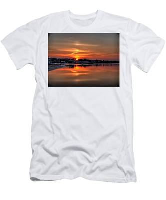 Nuclear Morning Men's T-Shirt (Athletic Fit)