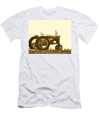 Old Tractor IIi In Sepia Men's T-Shirt (Athletic Fit)
