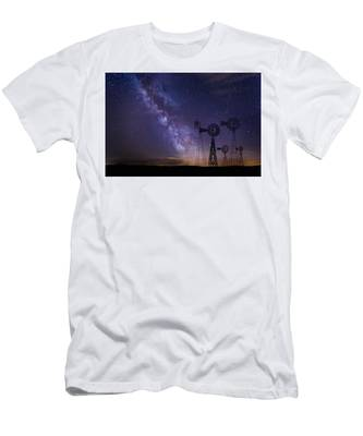 Our Milky Way  Men's T-Shirt (Athletic Fit)