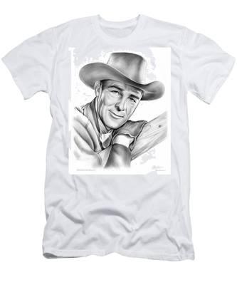Randolph Scott Men's T-Shirt (Athletic Fit)