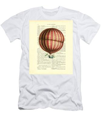 Crewneck Sweatshirt Hot Air Balloon Ride shirt for Men or Women