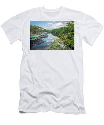 River Views In Negril, Jamaica Men's T-Shirt (Athletic Fit)
