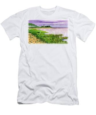 Seaside Park Men's T-Shirt (Athletic Fit)