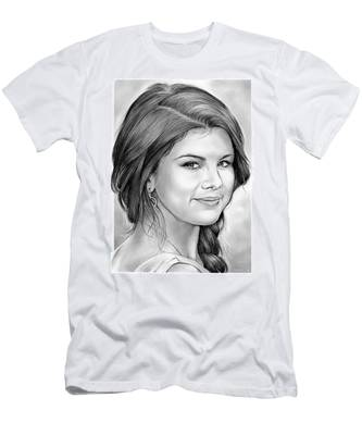 Selena Gomez Men's T-Shirt (Athletic Fit)