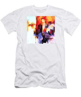 Seven Steps Men's T-Shirt (Athletic Fit)
