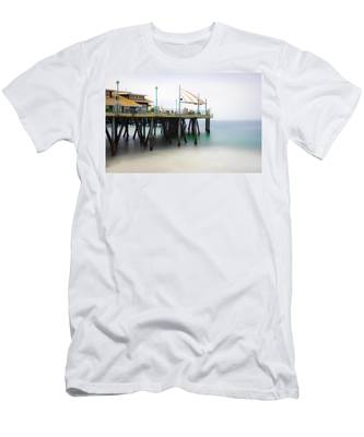 Softly On The Pier Men's T-Shirt (Athletic Fit)