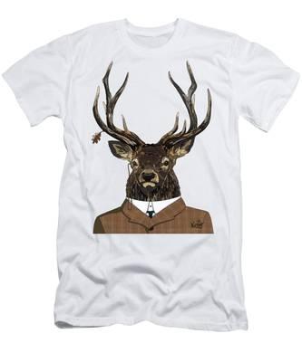 Suited  Men's T-Shirt (Athletic Fit)
