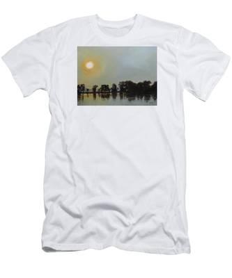 Sunset Ride Men's T-Shirt (Athletic Fit)