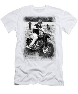"""STEVE MCQUEEN /"""" Movie Star /"""" Personalized T-shirts"""