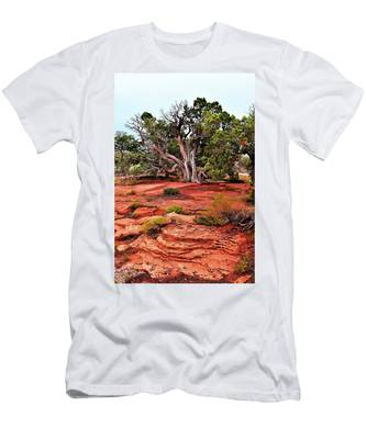 Men's T-Shirt (Athletic Fit) featuring the photograph The Tree That Knows All by Howard Bagley