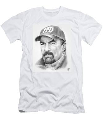 Tom Selleck Men's T-Shirt (Athletic Fit)